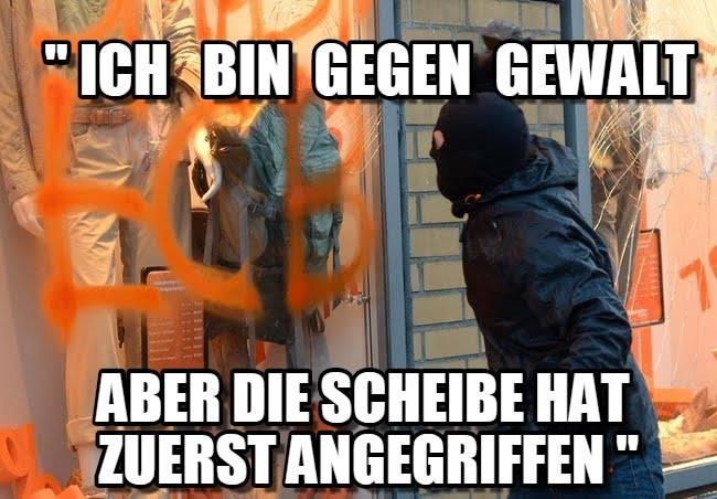 antifa_scheibe